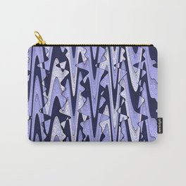 Abstract Iceberg Pattern Carry-All Pouch