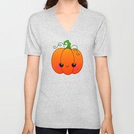 Little Pumpkin Unisex V-Neck