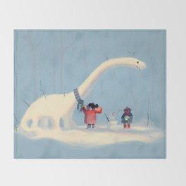 Frozen Dino Throw Blanket
