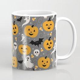 Pumpkin Party in Gray Coffee Mug