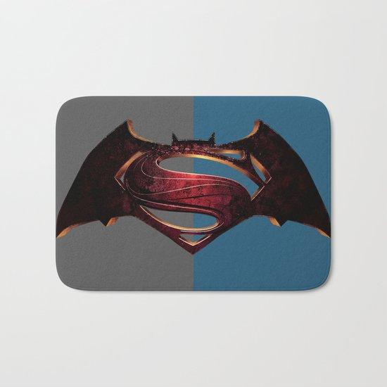 Batman/Superman Bath Mat