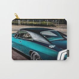 1969 MOPAR Hemi Charger RT in Q5 Turquoise Blue Carry-All Pouch