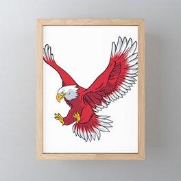Flying Eagle Art Framed Mini Art Print