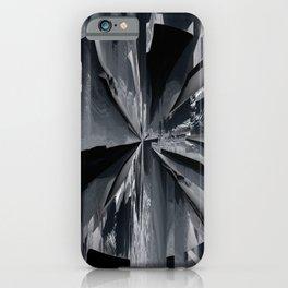 Glitch 8 iPhone Case