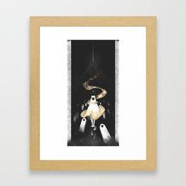 Waiting - Journey Framed Art Print