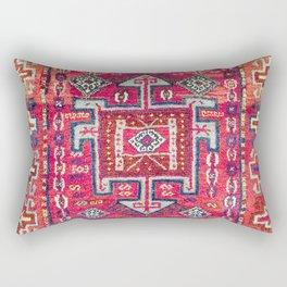 Malatya  Antique Kurdish Turkish Rug Rectangular Pillow