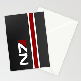 Mass Effect - N7 Stationery Cards
