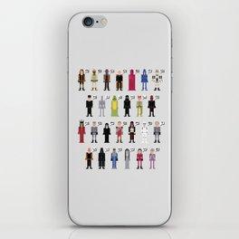 The Dark Side Alphabet 2 iPhone Skin