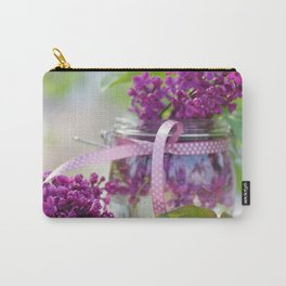 Lilac Spring Still life Carry-All Pouch