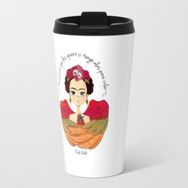 Frida Kahlo (spanish) Travel Mug