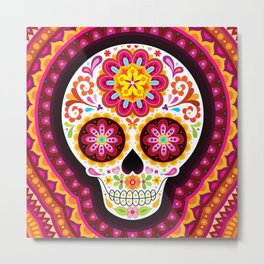 Sugar Skull (Mesmerize) Metal Print