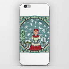 version of peaceful snow 2 iPhone & iPod Skin