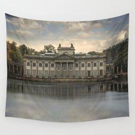 Royal Palace in Warsaw Baths Wall Tapestry