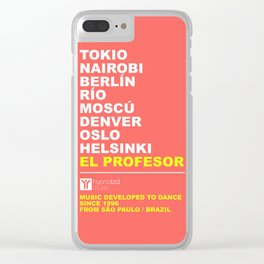 Tv serie Clear iPhone Case