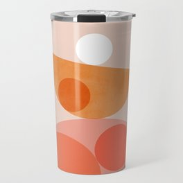 Abstraction_Balance_Round_Minimalism_001 Travel Mug