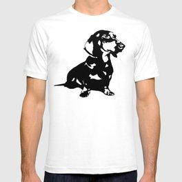 """DACHSHUND """"DOXIE""""  DOG T-shirt"""