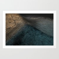 Concrete Wave Art Print