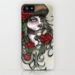 Day of the Dead Girl iPhone Case