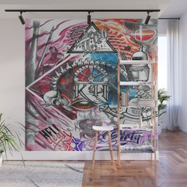 Mad Mix Wall Mural