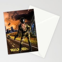 Future Girl in New York Stationery Cards