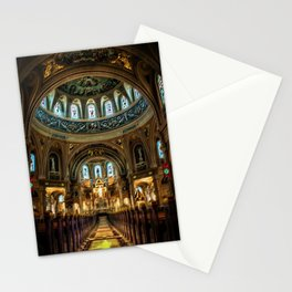 'The Church of Strange New Things,' A Portrait by Jeanpaul Ferro Stationery Cards
