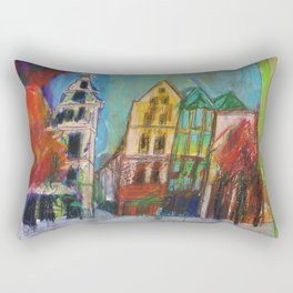 Cologne Old Market Rectangular Pillow