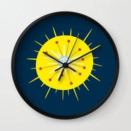 Radiolarian Wall Clock