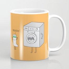 sock eating monster Coffee Mug