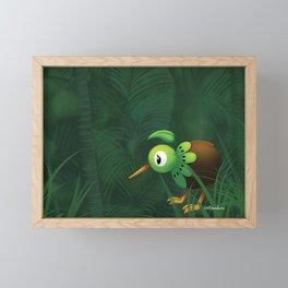 Lost in Godzone Framed Mini Art Print