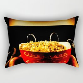 Date Night At The Movies Rectangular Pillow