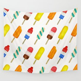 Popsicle Collection Wall Tapestry
