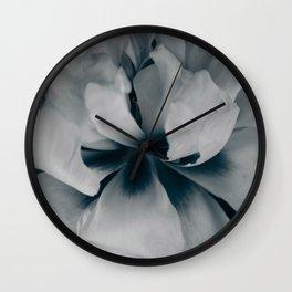 White peony 3 Wall Clock