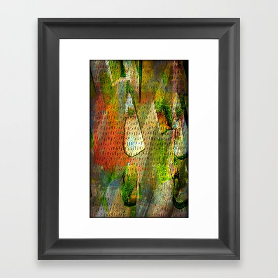 Prismas Framed Art Print
