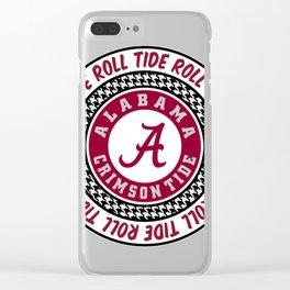 Alabama University Roll Tide Crimson Tide Clear iPhone Case