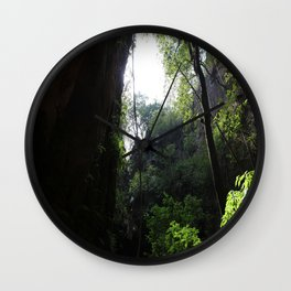 In the jungle Wall Clock