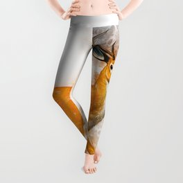 Deer Art Leggings