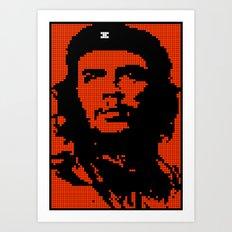Che Bit Art Print