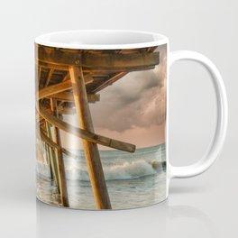 Sunrise at Bogue Inlet Pier Coffee Mug