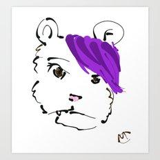 UG IM A BEAR Art Print