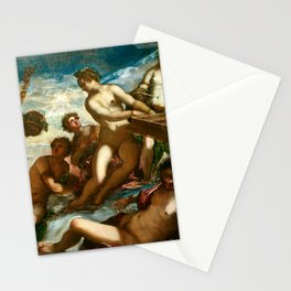 """Tintoretto (Jacopo Robusti) """"The muses"""" Stationery Cards"""