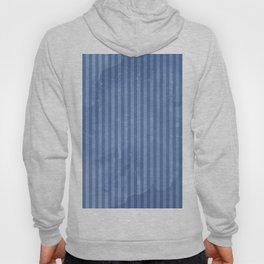 Degrade Blue Vertical Lines Hoody