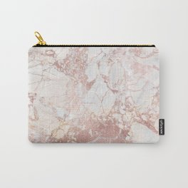 Marble with Rosegold Veinings (ix 2021) Carry-All Pouch