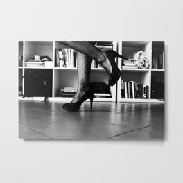 Woman by Denise Dietrich Metal Print