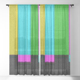STALLD OUT Sheer Curtain