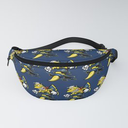 Cartoon Blue Angels F/A-18 Hornet Fanny Pack