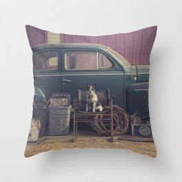 this year's model Throw Pillow