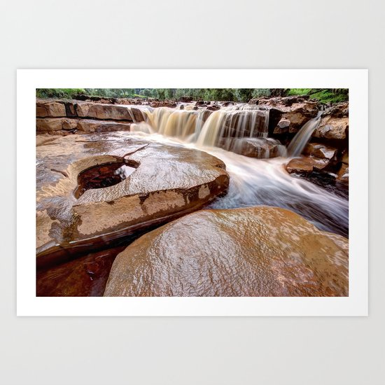 Lower Wainwath Force Art Print