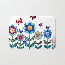 Lovely Spring Time Bath Mat