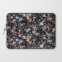Fractured pastel flowers Laptop Sleeve