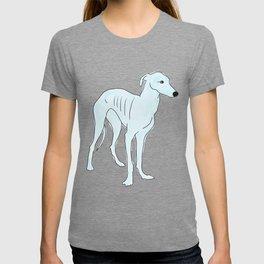 Blue Italian Greyhound T-shirt